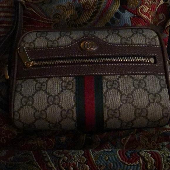 1d4eac7133c Gucci Handbags - Gucci ophidia gg mini supreme canvas crossbody bag